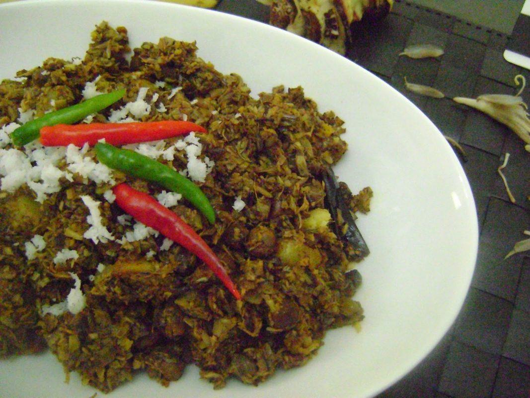 Kolar Mocha (The Banana Flower Mash) | Secret Recipe