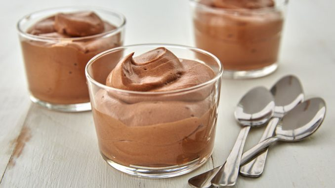 Olive Oil Chocolate Mousse Recipe, How to make Olive Oil Chocolate Mousse, Chef James Beard Chocolate Mousse Recipe, Chocolate mousse ingredients, Dark chocolate mousse recipe