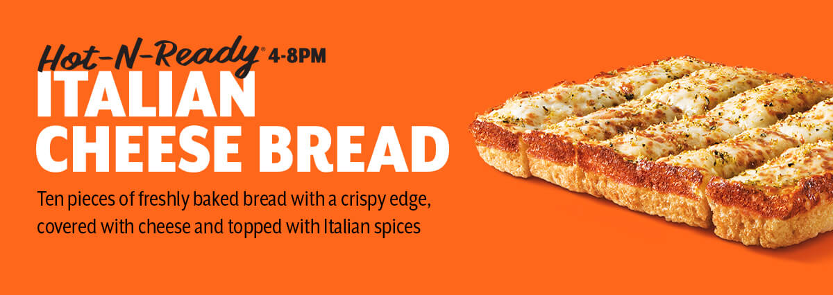 Little Caesar's Zesty Jalapeno Cheesy Italian Bread Recipe