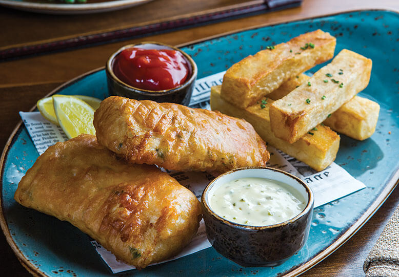 Gordon Ramsey Fish and Chips recipe