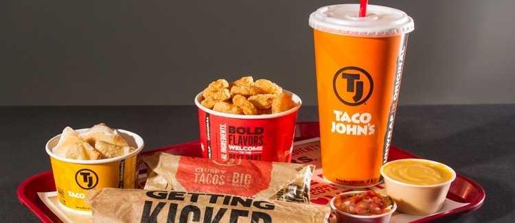 Taco John's menu with Prices
