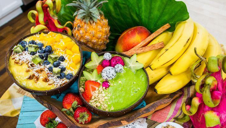 Tropical Smoothie menu