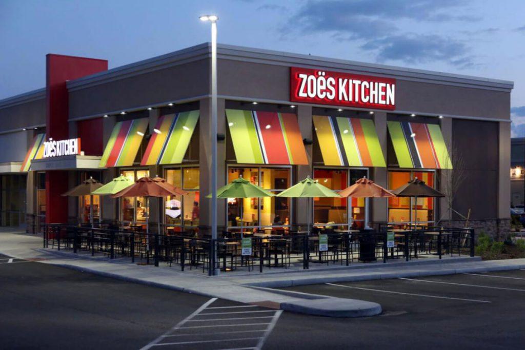 Zoës Kitchen Restaurant