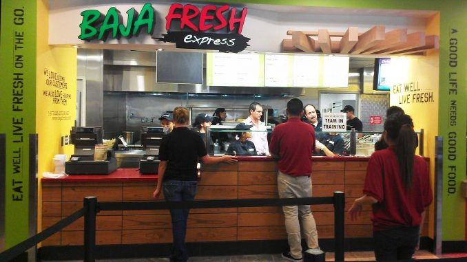 Baja Fresh restaurant