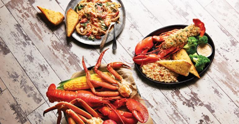 Joe's Crab Shack menu