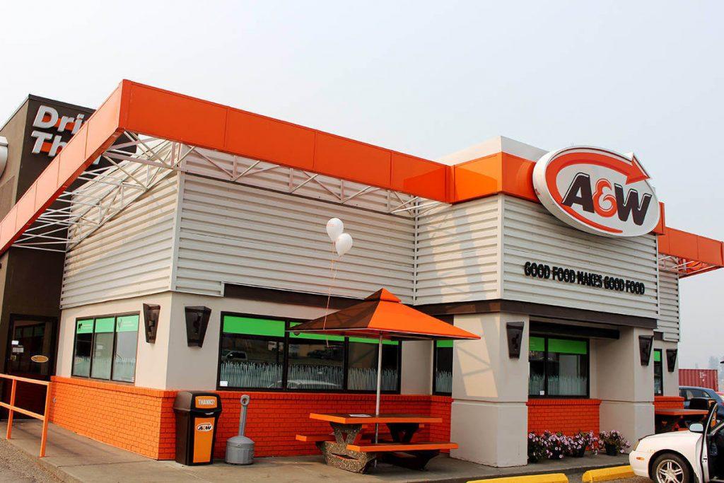 A&W franchise