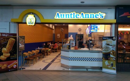 Auntie Anne's franchise