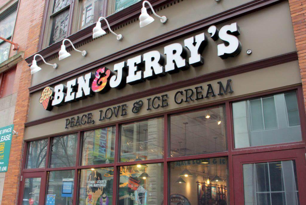Ben & Jerry's restaurant