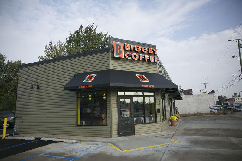 Biggby coffee restaurant