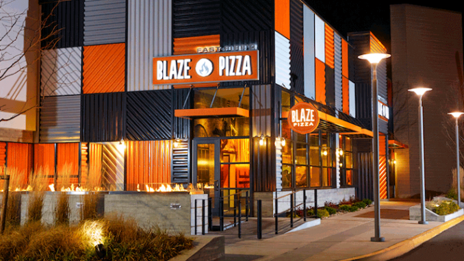 Blaze Pizza restaurant