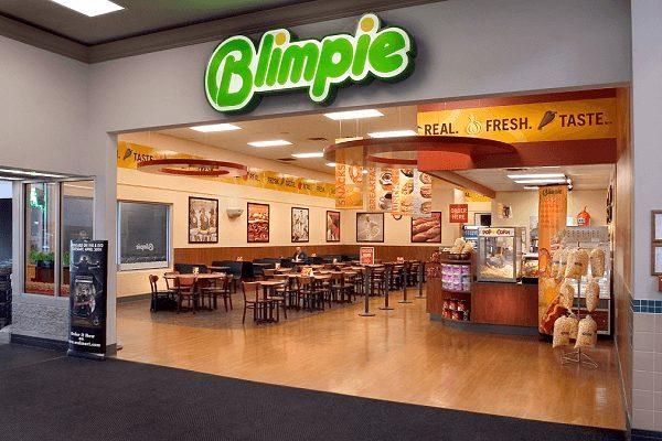 Blimpie restaurant