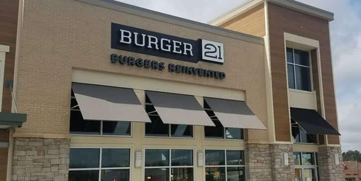 Burger 21 franchise