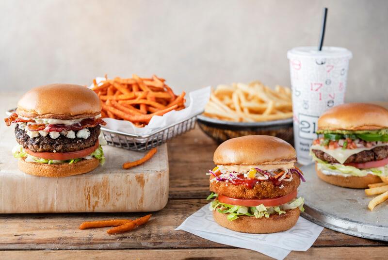 Burger 21 menu
