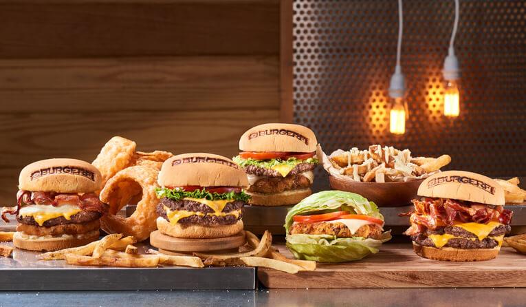 BurgerFi menu