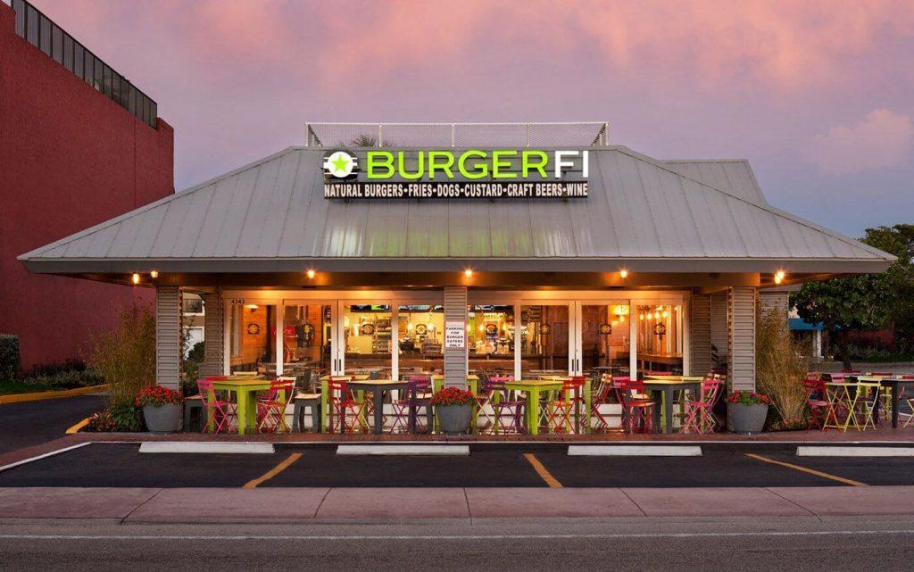 BurgerFi restaurant