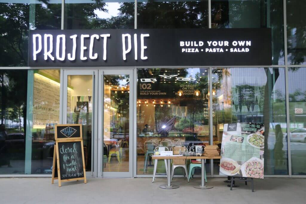 Project Pie store