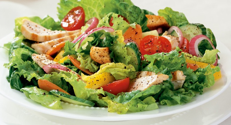 food from Saladworks menu