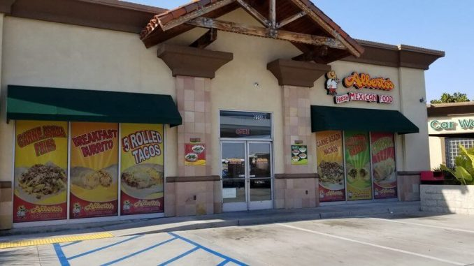 Alberto's Mexican Food store