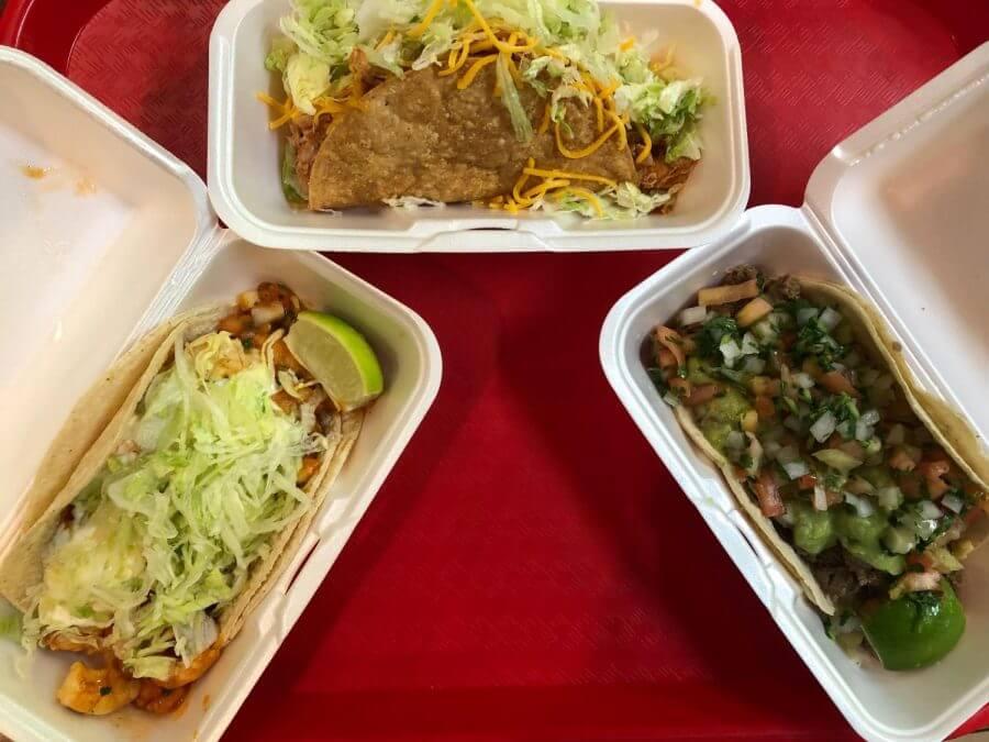 Alberto's Mexican Food menu
