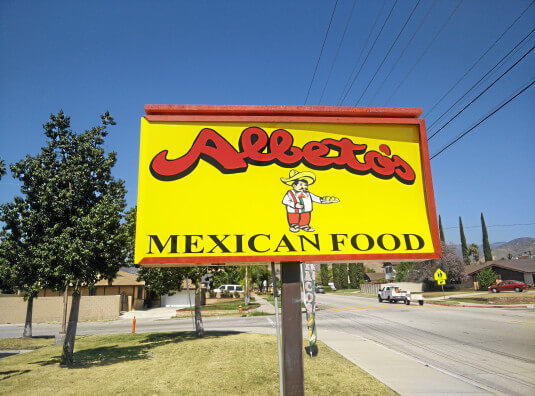 Alberto's Mexican Food Franchise