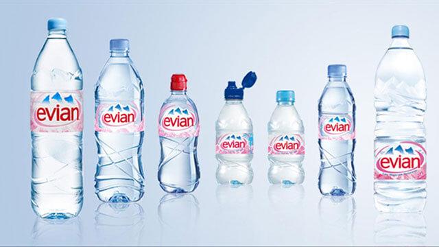 Evian Waterprices 2020