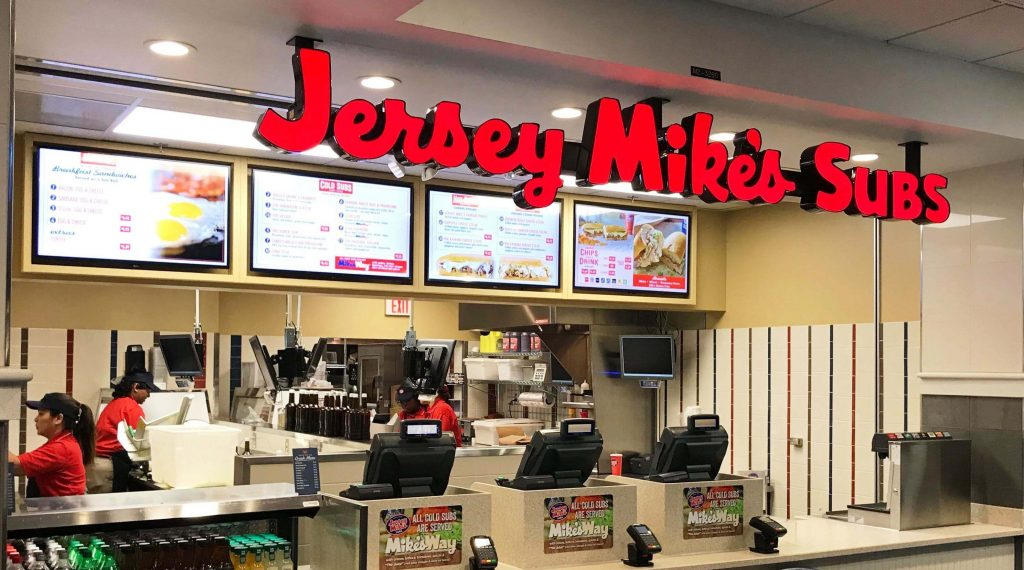 Jersey Mike's Subs outlet