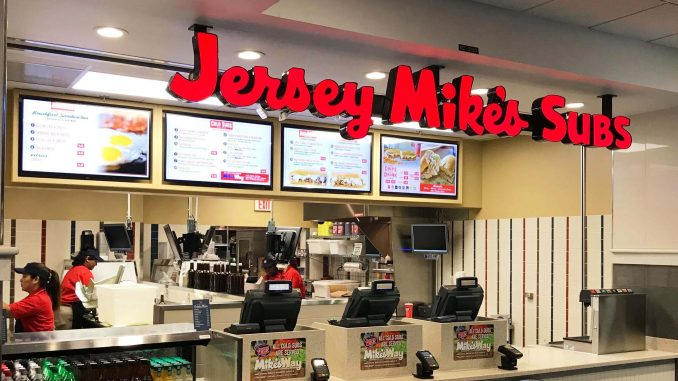 Jersey Mike's Subs store