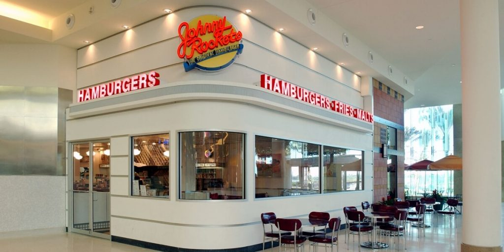 Johnny Rockets store
