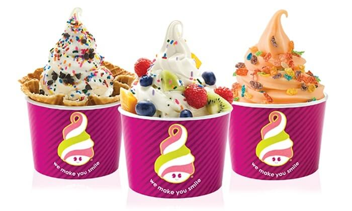 Menchie's Frozen Yogurt menu