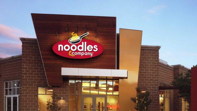 Noodles & Company restaurant