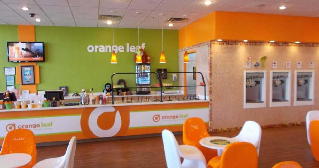 Orange Leaf Frozen Yogurt Franchise