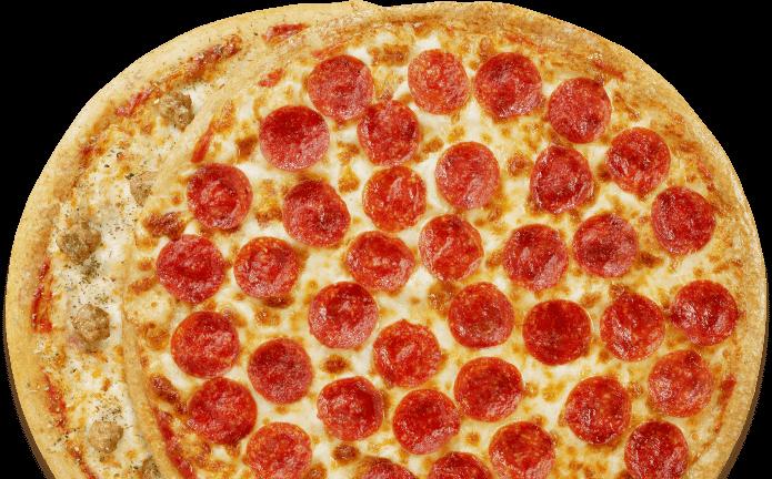 Peter Piper Pizza menu