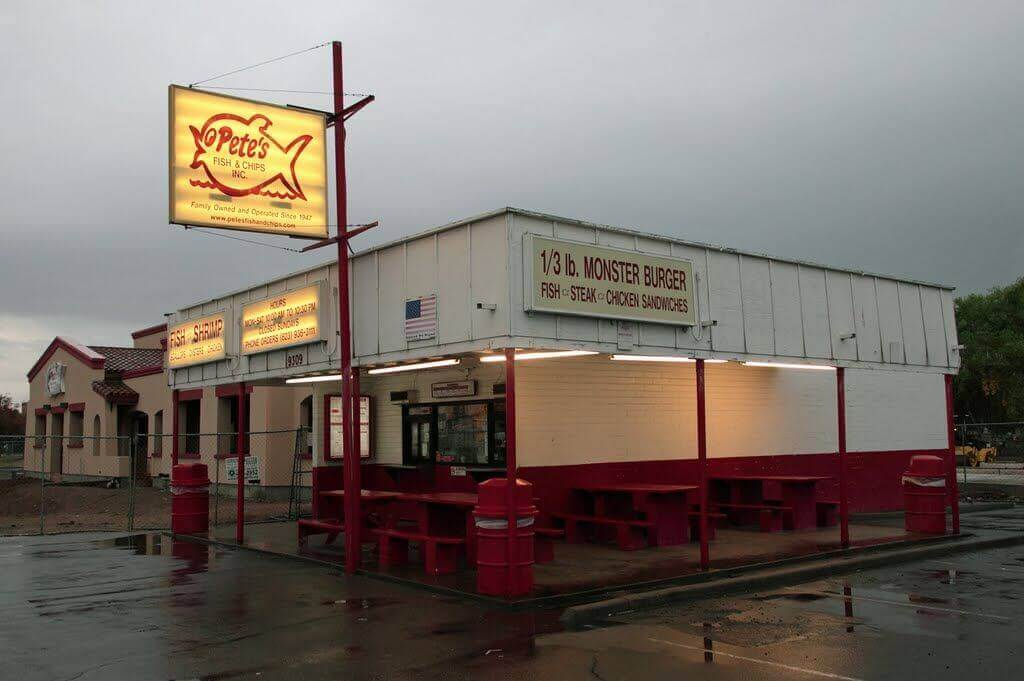Pete's Fish and Chips restaurant