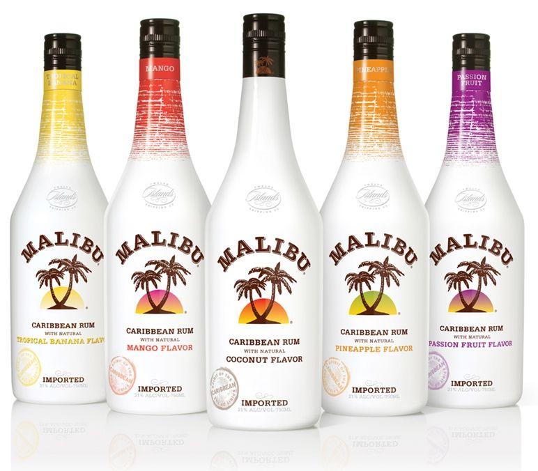 Malibu Rum Flavors