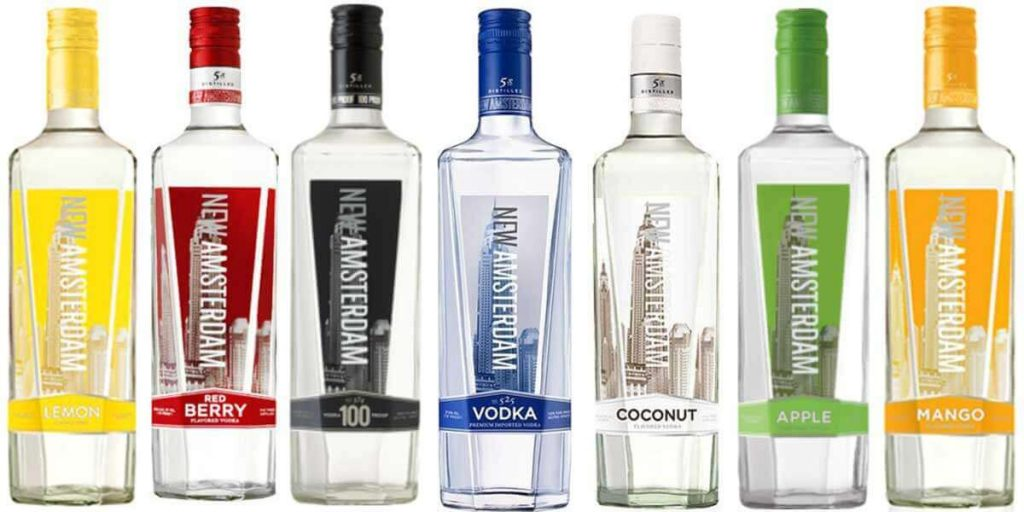 New Amsterdam Vodka prices