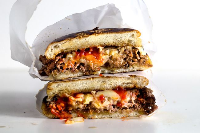 Chopped Cheese Sandwich recipe