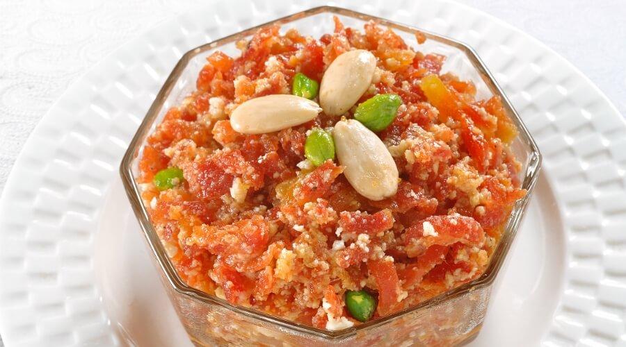 Gajar ka Halwa without Khoya recipe
