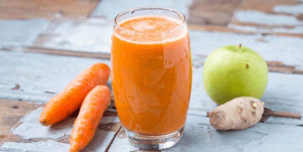 Hawaiian Gingerly Carrot Juice
