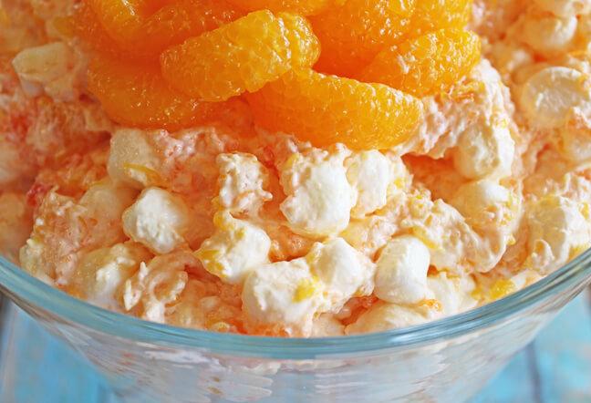 Mandarin Orange Congealed