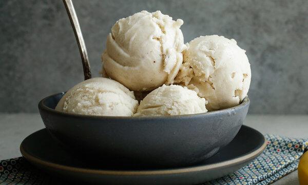 Vitamix Banana Ice Cream