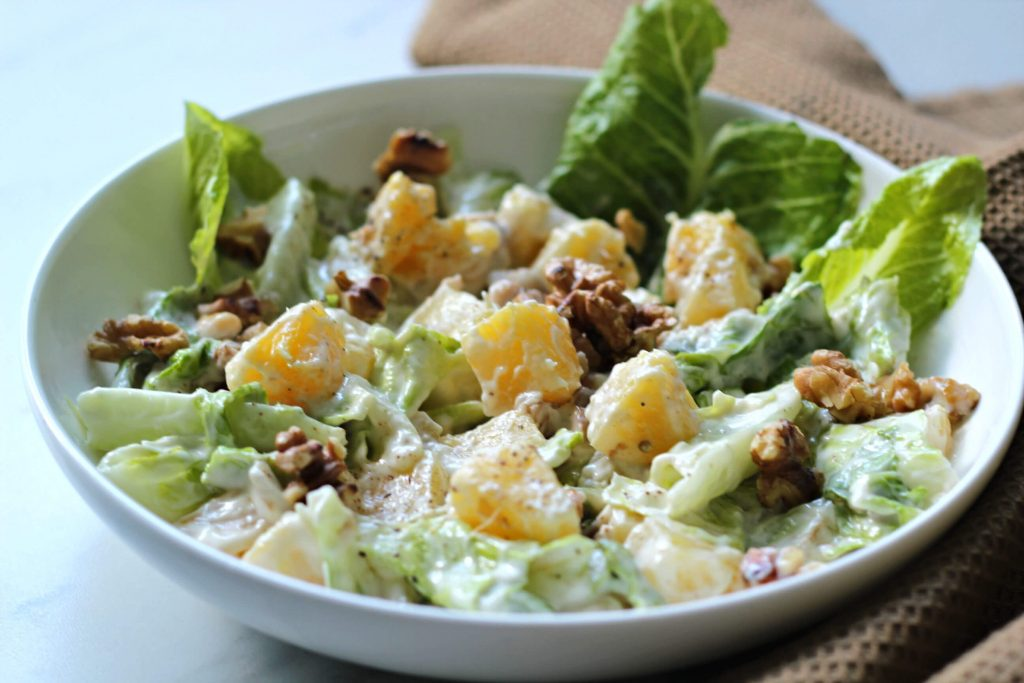 Waldorf Salad Recipe with Pineapples