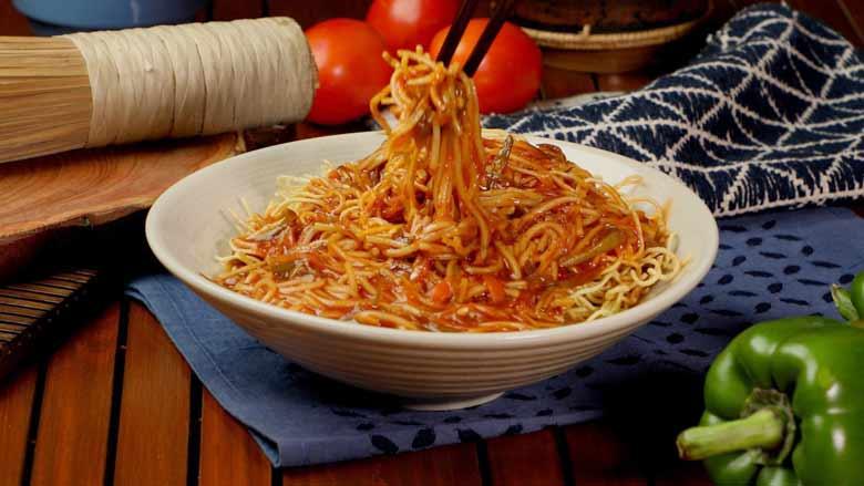 American Vegetable Chop Suey recipe