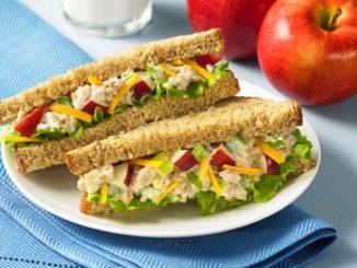 Apple Chicken Salad Sandwich