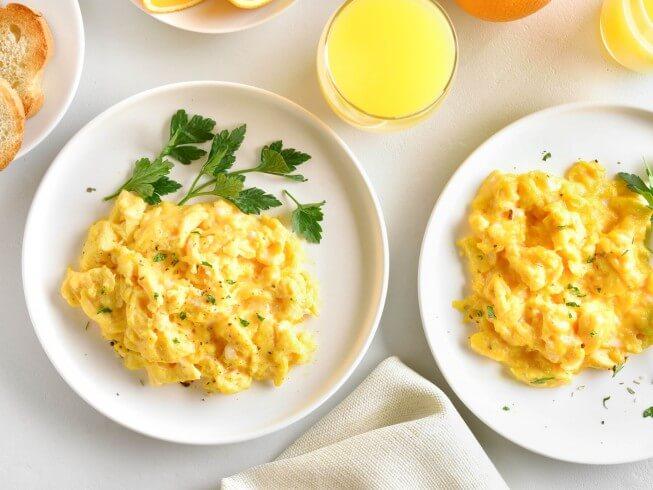 Baked Scrambelled Eggs