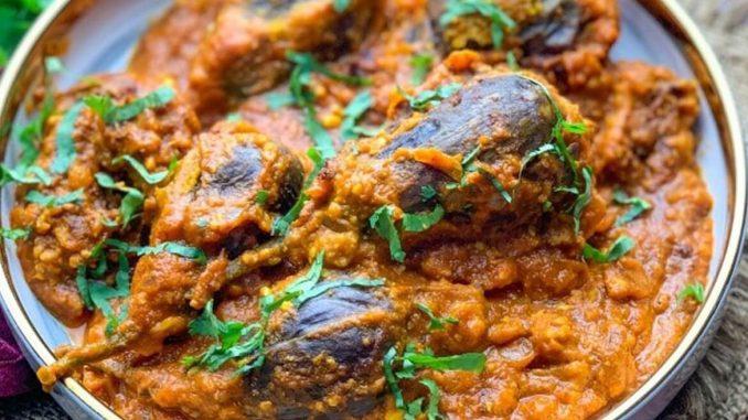 Bhagare Baingan Curry