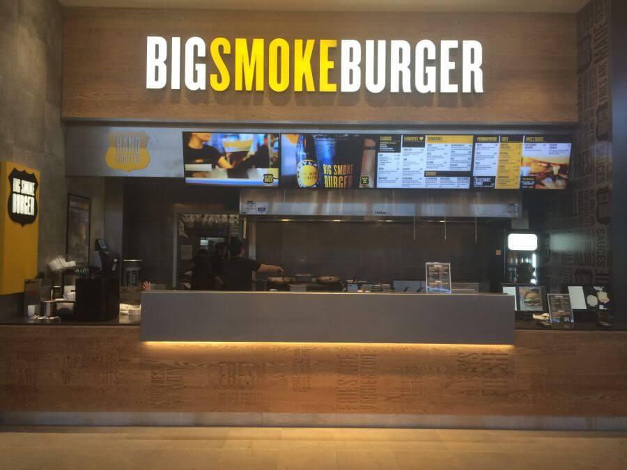 Big Smoke Burger franchise