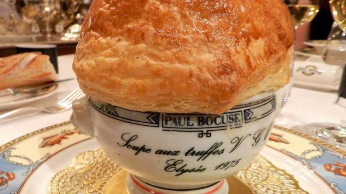 Chef Paul Bocuse Black Truffle Soup