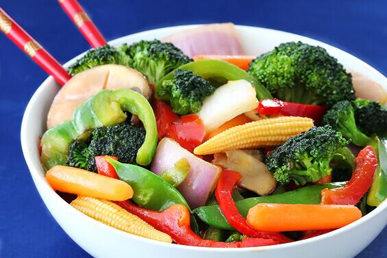 Chinese Vegetable Stir Fry recipe