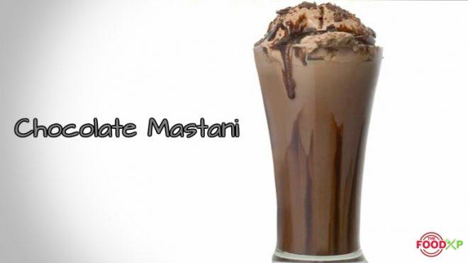 Chocolate Mastani recipe