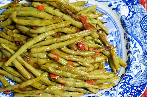 Crack Green Beans recipe